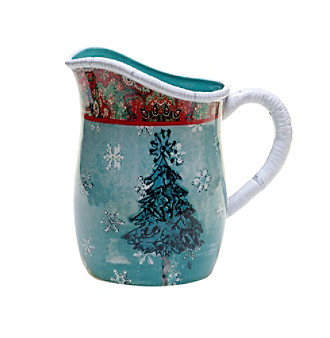 Certified International by Tracy Porter® for Poetic Wanderlust® Folklore Holiday Collection 2.75-Qt. Pitcher