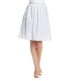 MICHAEL Michael Kors® Ribbon Embroidered Skirt