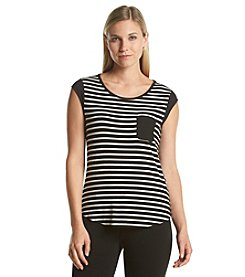 Calvin Klein One Pocket Striped Tee