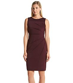 Calvin Klein Sunburst Side Scuba Dress