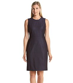 Calvin Klein Seamed Denim Dress