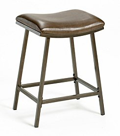 Hillsdale® Saddle Counter/Bar Stool