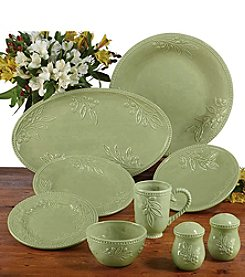 Certified International Bianca Green Dinnerware Collection