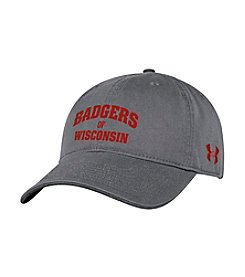 Under Armour® NCAA® Wisconsin Badgers Renegade Adjustable Hat