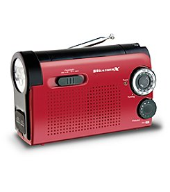 Weather X Flashlight Radio