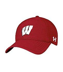 Under Armour® NCAA® Wisconsin Badgers Men's Renegade Stretch Hat