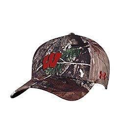 Under Armour® NCAA® Wisconsin Badgers Men's Real Tree Camo Hat
