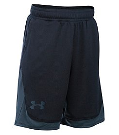 Under Armour® Girls' 7-16 Pop A Shot Basketball Shorts