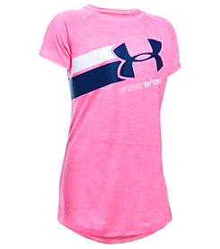 Under Armour® Girls' 7-16 Short Sleeve Fast Lane Tee