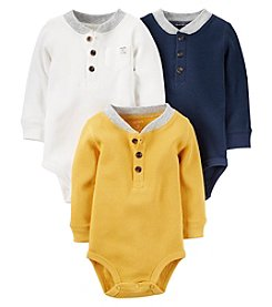 Carter's® Baby Boys 3-Pack Thermal Bodysuits