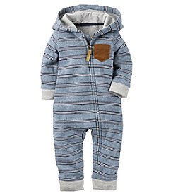 Carter's® Baby Boys' Striped Coverall