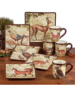 Certified International by Susan Winget Rustic Nature Dinnerware Collection