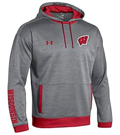 Under Armour® NCAA® Wisconsin Badgers Boys' 8-20 Momentum Long Sleeve Hoodie