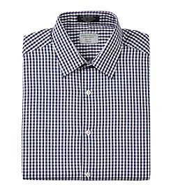John Bartlett Statements Men's Slim Fit Stretch Patterned Dress Shirt