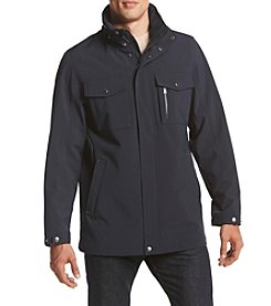 Izod® Men's Long Softshell Coat