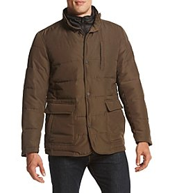 Sean John® Men's Puffer Blazer with Bib Jacket