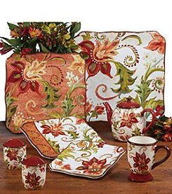 Certified International by Tre Sorelle Studios Spice Flowers Dinnerware Collection