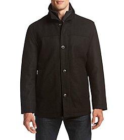 London Fog® Men's Wool Button Front Coat