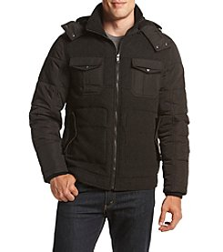 Sean John® Men's Mixed Media Puffer Jacket