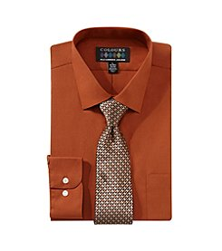 Alexander Julian® Men's Shirt & Tie Set