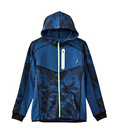 Exertek® Boys' 8-20 Long Sleeve Bonded Full-Zip Hoodie