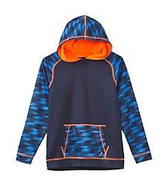 Exertek® Boys' 8-20 Long Sleeve Printed Fleece Hoodie