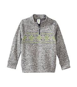 Mix & Match Boys' 2T-7 Long Sleeve 1/4 Zip Sweater