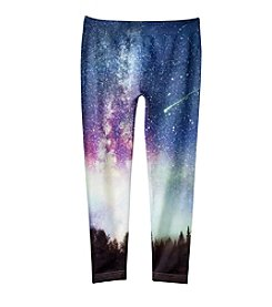 Jessica Simpson Girls' 7-16 Kaylie Starry Night Seamless Leggings