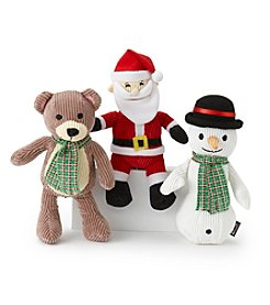 Animal Planet® Pet Toy Plush Holiday Assortment 3-Pack