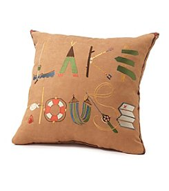 Ruff Hewn Lake House Decorative Pillow