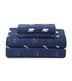 Ruff Hewn Walking Bear Patterned Microfiber Sheet Set
