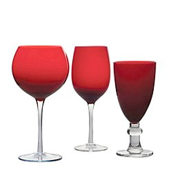 Certified International Ruby Stemware
