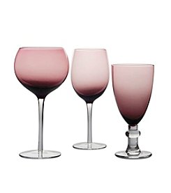 Certified International Amethyst Stemware