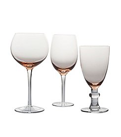 Certified International Pink Stemware