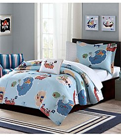 Mi Zone Kids Ahoy Matey Complete Comforter Bed Set