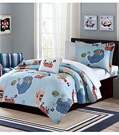 Mi Zone Kids Ahoy Matey Complete Comforter Bed Set