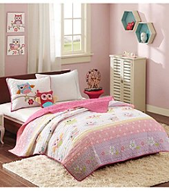 Mi Zone Kids Hooting Harley Coverlet Set