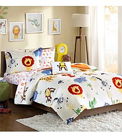 Mi Zone Kids Safari Sam Complete Comforter Bed Set