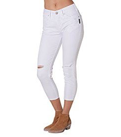 Silver Jeans Co. Suki High Destructed Details Capris