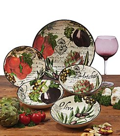Certified International Botanical Veggies 5-pc. Pasta Set
