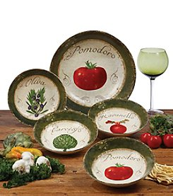 Certified International Pomodoro 5-pc. Pasta Set