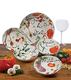 Certified International Melanzana 5-pc. Pasta Set