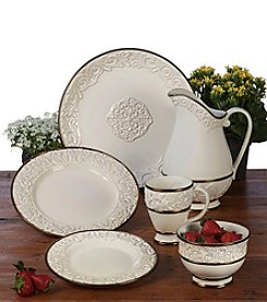 Certified International by Karidesign Solstice Cream Dinnerware Collection