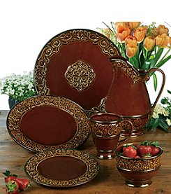 Certified International by Karidesign Solstice Brown Dinnerware Collection