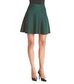 XOXO® Mini Skirt With Zip Up Back