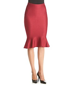 XOXO® Solid Trumpet Skirt