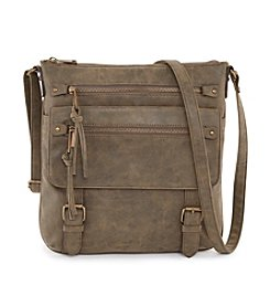 Ruff Hewn Zip Front Pocket Crossbody