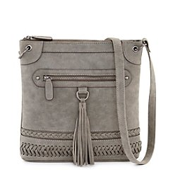 Ruff Hewn Convertible Crossbody With Tassel And Braiding