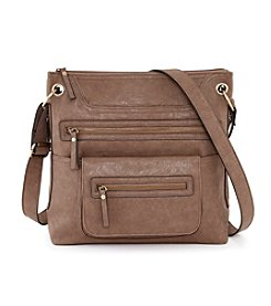 GAL Veg Tan Multi Pocket Crossbody
