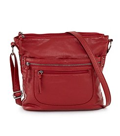 GAL Washed Lizard Embossed Crossbody